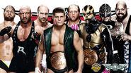 TLC 2013 Fatal 4 way tag match