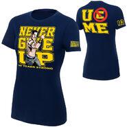 John Cena 10 Years Strong Authentic women's T-Shirt