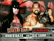 Undertaker vs Big Show ECW