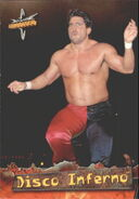 1999 WCW Embossed (Topps) Disco Inferno 7