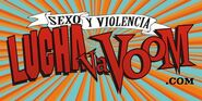 Lucha VaVoom Sticker
