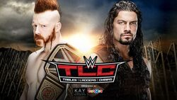 TLC 2015 Sheamus v Reigns