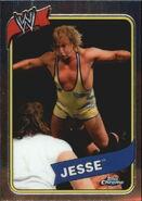 2008 WWE Heritage III Chrome Trading Cards Jesse 38