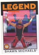 2016 WWE Heritage Wrestling Cards (Topps) Shawn Michaels 104