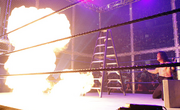Edge up in flames Undertaker