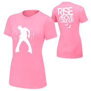 Fandango Rise Above Cancer Pink Women's T-Shirt