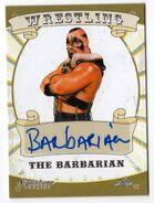 2016 Leaf Signature Series Wrestling The Barbarian 6