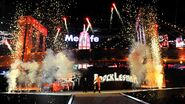 WrestleMania 29 Brock Lesnar entrance