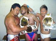 Ddt-6man-Danshoku-Dino-Makoto-Oishi-Kensuke-Sasaki