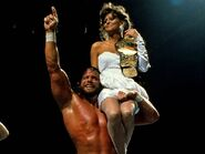 Randy Savage with Miss Elizabeth