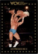 1991 WCW Collectible Trading Cards (Championship Marketing) Lex Presses Ric II 57