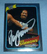 2008 WWE Heritage III Chrome Trading Cards Ron Simmons 34