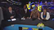 Josh Mathews, Booker T, Shawn Michaels & Vickie Guerrero - SummerSlam 2013 panelist team
