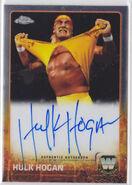 2015 Chrome (Topps) Hulk Hogan 5