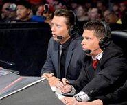 Josh Matthews & The Miz WWE Main Event