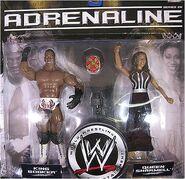 WWE Adrenaline Series 26 Booker T & Sharmell