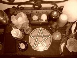 Pagan Altar by ReanDeanna