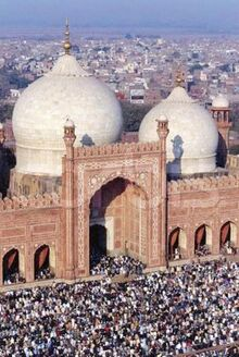 Eid Prayers at the Badshahi Mosque