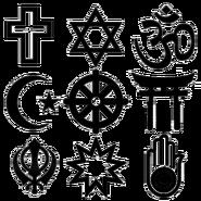 Religious syms