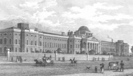 Bethlem Hospital in St George's Fields by Thomas Shepherd