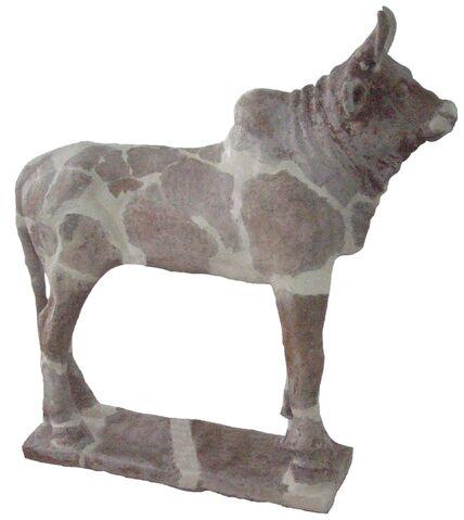 File:Iran bastan 19 - pottery cow - Chogha zanbil.jpg
