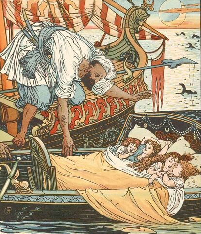 File:Princess Belle-Etoile 2 - illustration by Walter Crane - Project Gutenberg eText 18344.jpg