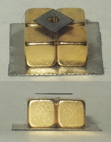 File:Diamagnetic graphite levitation.jpg