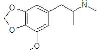 N-methyl-3-methoxy-4,5-methylendioxyamphetamine