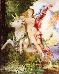 Moreau, Europa and the Bull