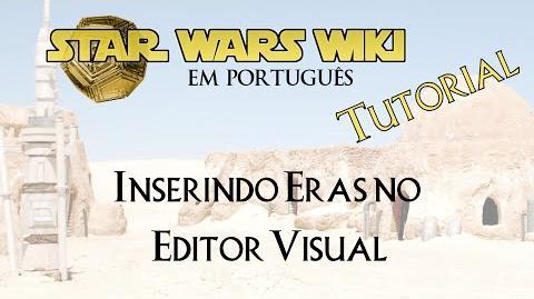 TUTORIAL Inserindo Eras no Editor Visual