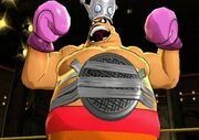 Title Defense King Hippo