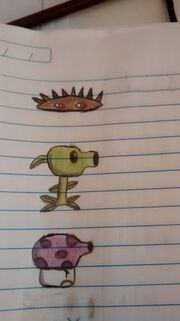 Spike, Pea and Fume