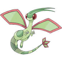 Flygon Artwork