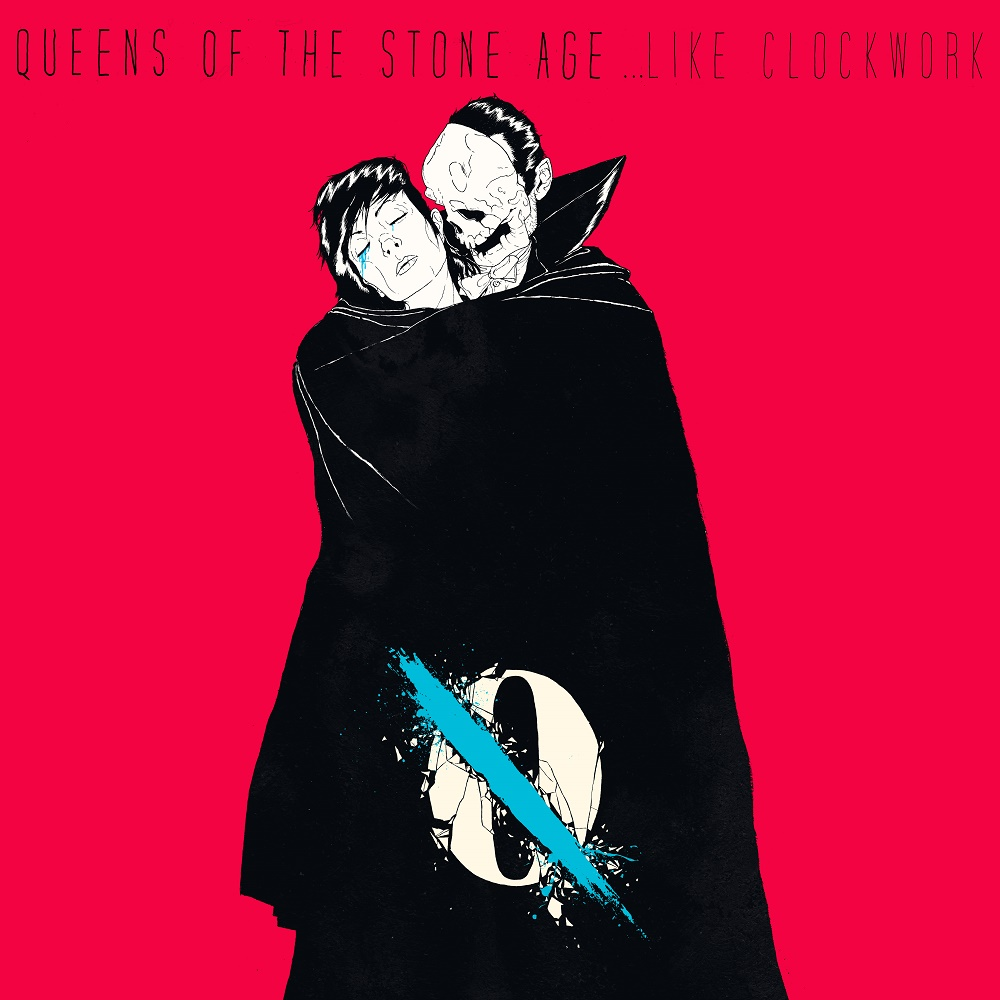 Image result for queens of the stone age like clockwork album cover