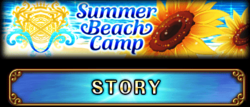 Chrome Magna Summer Beach Camp Story Banner
