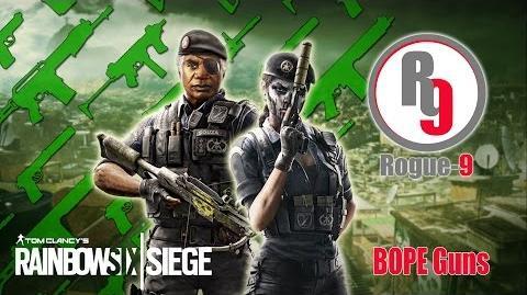 BOPE Guns - Rainbow Six - Siege