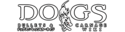 Dogs Bullets & Carnage Wiki Wordmark