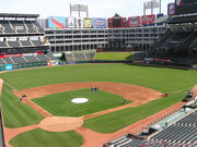 AmeriQuest Field, home of the Texas Rangers