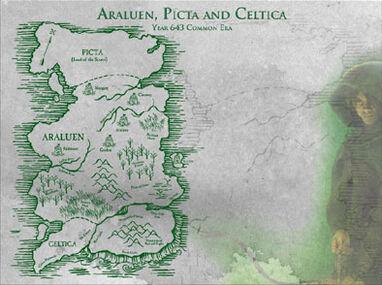 Map araluen