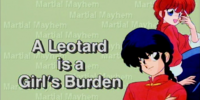 A Leotard is a Girl's Burden