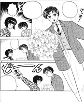 Kinnosuke arrives