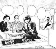Gosunkugi with his parents