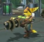 Ratchet holding Gelanator