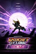 Ratchet & Clank Nexus Holiday 2013 poster