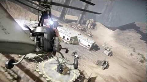 Ravaged Gyro Helicopter (2 Dawn Games)