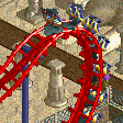 Compact Inverted Coaster RCT2 Icon