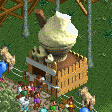 Ice Cream Cone Stall RCT2 Icon