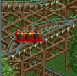 Reverser Roller Coaster RCT2 Icon