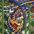 Dragon Coaster RCT2 Icon