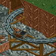 Wooden Wild Mine Ride RCT2 Icon